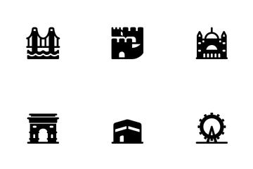 World Landmarks Icon Pack