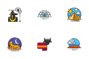 World Monuments  Icon Pack
