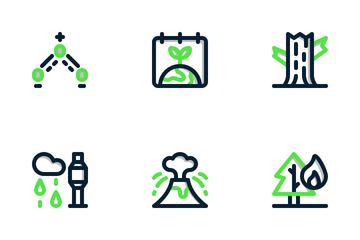 World Ozone Day Icon Pack