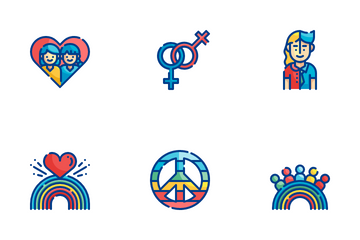 World Pride Day Icon Pack