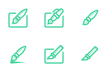 Writing Tools (Outline) Icon Pack