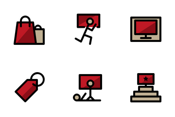 Year-end Sale Icon Pack