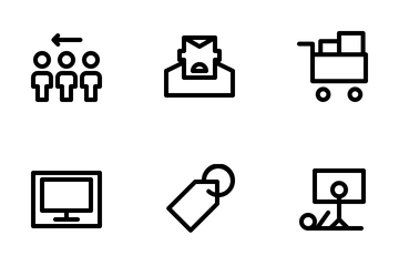 Year End Sale Icon Pack