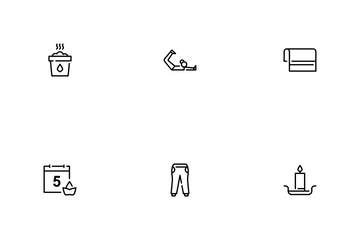 Yoga And Meditation Icon Pack
