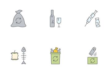 Zero Waste Icon Pack