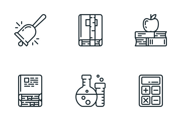 Zlico: Education #2 (Lineal) Icon Pack