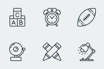 Zlico: Education #3 (Lineal) Icon Pack