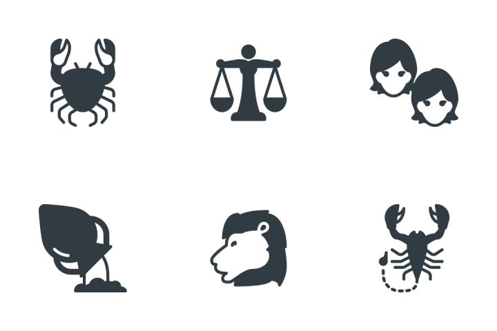 Zodiac  Icon Pack