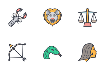 Zodiac Signs Icon Pack