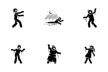 Zombie Icon Pack