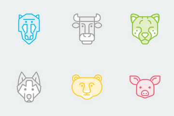 Zoocon Color Icon Pack