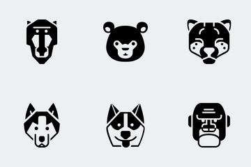 Zoocon Glyph Icon Pack