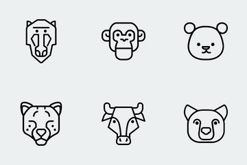 Zoocon Line Icon Pack