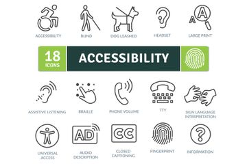 Accessibility Icon Pack