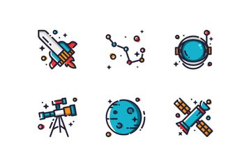 Astronomy Space Icon Pack