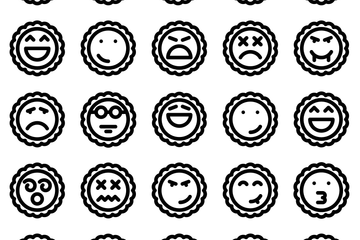 Avatar Emoticon Icon Pack