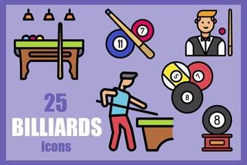 Billiard Icon Pack