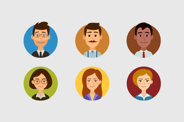 Business Human Icon Pack