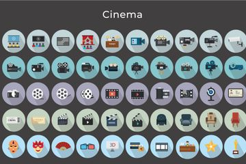 Cinema Icon Pack