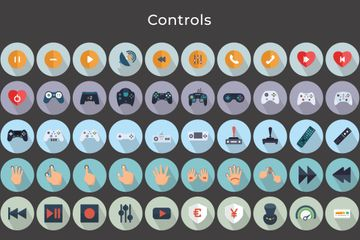 Gaming Controls Icon Pack
