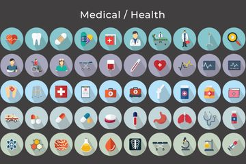 Medical / Health Vector Icons Icon Pack