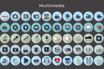 Multimedia Icon Pack