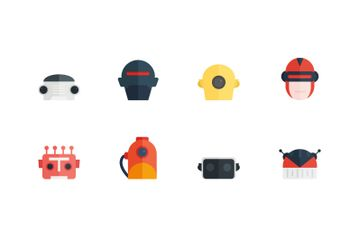 Robot Collection Icon Pack