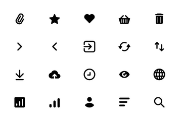 Free User Interface Icons Set Icon Pack