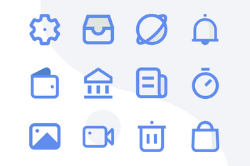 User Interface Minimalist Icon Pack