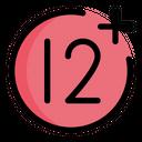 12 Plus Plus 12 Icon