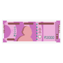 2000 Rs Note Icon