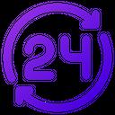 Shopping Hours Ecommerce Icon