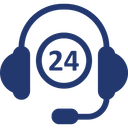 24 Hours Service Icon