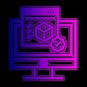 3 D Programming Model Icon
