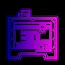 3 D Printer Model Icon