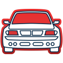 Transportation Vehicle Auto Icon