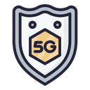 5 G Security Secure 5 G Icon