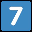 7 Seven Digital Icon