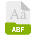 Bf File Format Icon