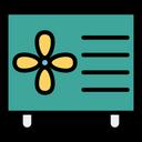 Ac Airconditioner Machine Icon