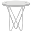 Accent Table Fancy Table Stylish Table Icon