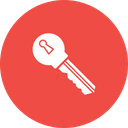 Key Access Encryption Icon