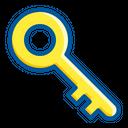 Access Key Password Icon