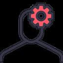 Account Configuration Gear Icon