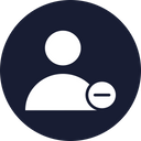Account Remove Account Delete Icon