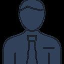 Accountant Corporate Person Financial Advisor Icon