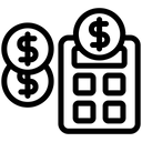 Calculator Tax Accounting Icon
