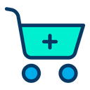 Add Cart Online Shopping Icon