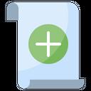 Add File File Document Icon