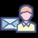 Receiver Recepient Consignee Icon
